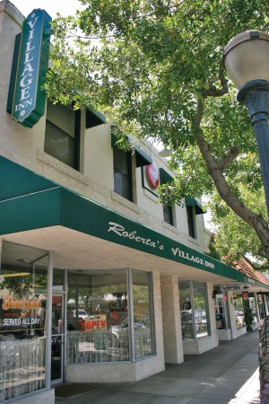 """Roberta's Village Inn is located in downtown La Verne on """"D"""" Street and has kept customers coming back since it first opened. / photo by Lauren Pollard"""