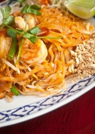 A popular Lucky Elephant Thai cuisine dish: Pad Thai. / photo by Courtney Droke