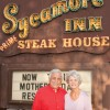 Sycamore Inn owners Chuck and Linda Keagle highlight Rancho Cucamonga's wine history to educate and entertain visitors at their restaurant on historic Route 66. The couple are founding owners of the Cask n' Cleaver restaurants and of the Lord Charlie's restaurant. / photo by Michael D. Martinez