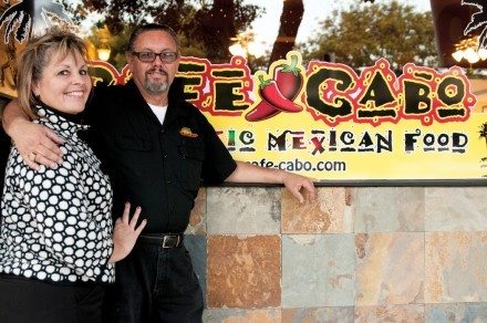 Judy and Art Moore fulfilled a longtime goal when they finally opened Café Cabo in downtown La Verne in December 2010. / photo by Christopher Guzman