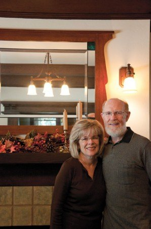Keepers of a legacy, Steve and Paula Albrigo take pride in their 100-year old craftsman home.