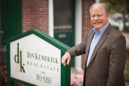 Mayor Don Kendrick owns a successful real estate business, selling homes in San Dimas, Claremont, La Verne, Glendora, Upland, Pomona and Rancho Cucamonga. His office is located on Bonita Avenue between C and D streets. / photo by Chelsea Knight