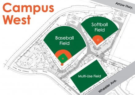 CAMPUS WEST DIAGRAM