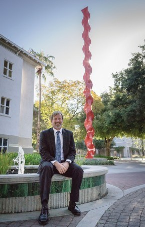 Newly-appointed Interim Provost Jonathan Reed began his career as a professor of religion. After more than 20 years, he continues to impact students. / photo by Helen Arase