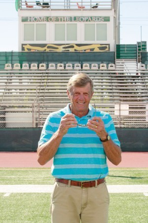 Rex Huigens led the University of La Verne football team to back-to-back Southern California Intercollegiate Athletic Conference Championships in 1993 and 1994. With a 9-0 record in SCIAC in 1994, the team also made its first NCAA Division III Football Championship playoff appearance. / photo by Autumn Simon