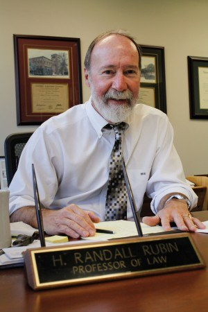 Randy Rubin is the associate dean for academic affairs and a professor of law at the University of La Verne College of Law. Rubin served two terms as the interim dean in both the 2002-03 and 2007-08 school years. / photo by Brooke Grasso