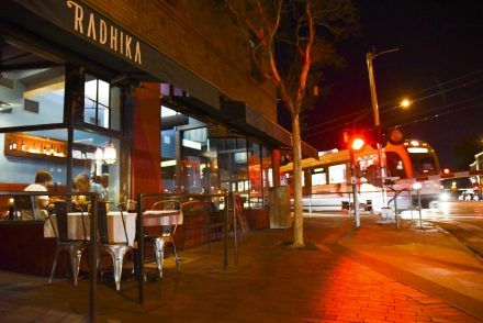 Radhika, an Indian restaurant, is steps away from the South Pasadena station. The restaurant was opened in 1995 in Alhambra and moved to expand at its new South Pasadena location. Radhika serves a variety of traditional Indian dishes, wine, craft beer and desserts. / photo by Nadira Fatah