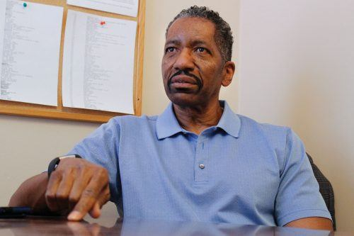 "Gilbert Ivey, chairman of the La Verne Planning Commission, says homelessness, gun control and policing are the issues he thinks need the most attention in California. Ivey says that police in La Verne over-respond to calls, sending multiple officers to scenes that would not be considered comparable serious crimes in cities like Compton, where he grew up. Ivey says that the homeless, especially veterans, should receive mental health care and assistance to return to working lives. He says Assemblyman Chris Holden is doing well in trying to help those addicted to opioids and hard drugs by getting programs together with his counterparts to do a ""full court press"" on the issue. / photo by Tyler Evains"