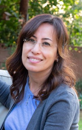 Julie AbiGhanem, senior adjunct professor of sociology at the University of La Verne, has many accomplishments including publishing a book at age 24 about Lebanon's military expenditures. She is a certified oral proficiency tester for the Arabic and French languages. / photo by Layla Abbas