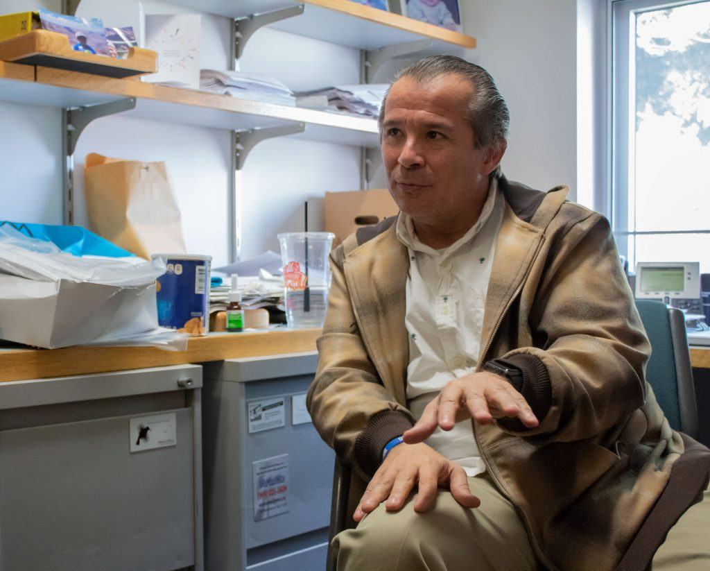 "Claudio Munoz, professor of accounting ""I have been a Latino professor here for over 25 years, and this experience has made me think a little more sensitive toward other people of all ethnicities, religions and orientations. It has been a big cause of concern for me because I was not aware of what our ugly truths are that are happening on our campus--whether they are hate crimes, violence, racism, things of this nature. I thought we had done a good job overall here at the University, but I do not know if we have really done a good job of living it out per say. The information we are receiving is limited. I am not sure what is going on other than what I have learned already. I do not know a lot about the frustrations and the anger students have, and I would like to be able to help in any way I can."""