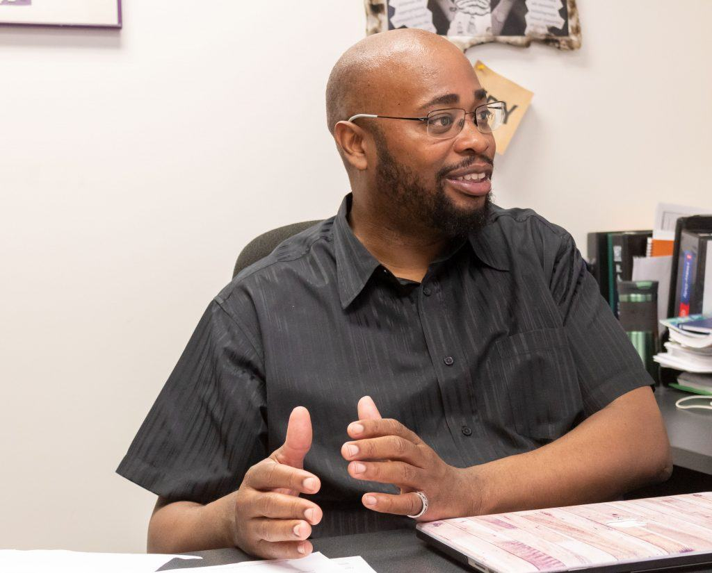 "Issac Carter, assistant professor of education ""It is not shocking, since the 2016 election there has been roughly estimated a 35 to 40 percent increase in hate crimes on college campuses. There is a power base that wants to keep those conversations to a minimum, so for me the hate crime incidents which are ongoing, they have not stopped on this campus, and there have been recent ones that people do not actually know about, and it just reminds me that we are not post anything. We are not post racial, we are not post cultural, we do not live in a colorblind society; we are not extra liberal. We are still a country that is founded by hate that has been sustained by hate, and the economical, political, social gaps--and in education--are material manifestation of our inability to have direct and true honest conversation about how we as a society do not support the idea of a full democracy. Democracy is a myth or ideal that we have not achieved in any real significant way. I am disappointed this institution had to have this experience, but also there was a poignant response to the hate crimes and minimization of their impact. I do not think our community and this institution are actually still having honest discussions about diversity in a real way because people are unwilling to take the challenge to admit that they are part of the problem. If you say you are liberal or an activist or you and your buddies decide you are woke, that does not stop the systematic inequality from perpetuating if you are not actively working to deconstruct it. If you are saying nothing and just going on with the flow and writing letters of support and statements of solidarity that do nothing to change the materialize of the people who have been targeted and continue to be targeted by hate crimes, then that is sad, disappointing and embarrassing."""