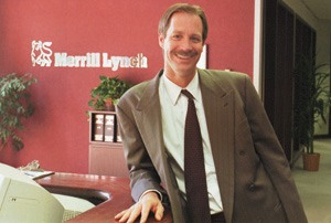 Underneath his boyish smile, Keith Brandt commands the power of a bull. His career includes making important decisions and managing more than 15 employees at Merrill Lynch in San Bernardino. Aside from his work, Keith is also a traveler. He admits to wanting to take a month off from work to spend time with his family. / photo by Veero Der-Karabetian