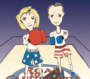 Campaign 2000: Can the Underdog be a Contender?